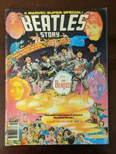 Marvel Comics super specialBeatles Story 1978 vol. #1 issue #4NO RESERVE!