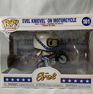 Funko Pop! Evel Knievel Evel Knievel with Motorcycle Collectible Vinyl Figure