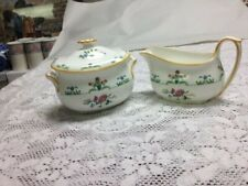 Wedgwood - Charleston - Covered Sugar Bowl & Creamer