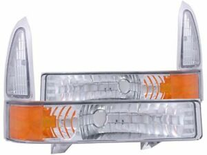 For 2000-2004 Ford Excursion Parking Light Assembly Anzo 58271DK 2003 2002 2001