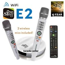 Magic Sing E2 WiFi Original Wireless Karaoke Mic ENG + 1YR Tagalog Hindi Spanish