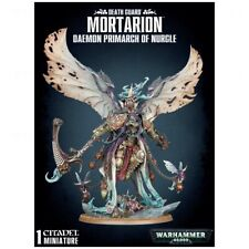 Warhammer 40k Death Guard Mortarion, Daemon Primarch of Nurgle **New in Box**