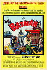 BATMAN Movie POSTER PRINT 27x40 Burt Ward Adam West Burgess Meredith