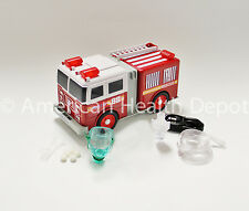 Child Pediatric Nebulizer Aerosol Compressor for Asthma COPD Fire Engine Model
