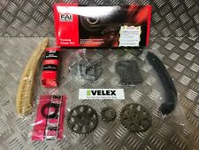 TIMING CHAIN KIT FITS SEAT IBIZA SKODA FABIA ROOMSTER VW POLO 1.2 2001-2015