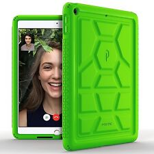 POETIC【TurtleSkin】Case For iPad 9.7 2017 [Heavy Duty] Silicone Case Green