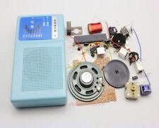 Superheterodyne Radio Receiver 6 Transistor + sch + case w/ Speaker DIY Kits