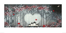 Garry Floyd (Cuore of the Forest I) Stampa D'arte PPR41197 50 x 100cm