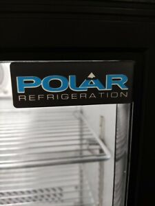 Polar Under counter commercial single  door fridge bottle cooler