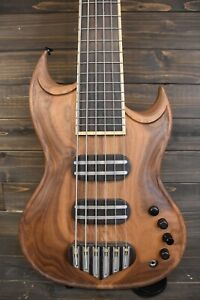 Les Godfrey LeSG Custom 6 Bass 2018 Walnut - carl thompson