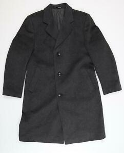 Dunn & Co Mens Grey   Overcoat Coat Size 38