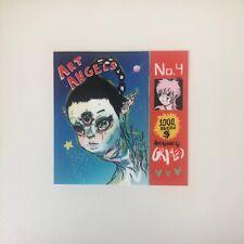 Grimes Art Angels Artwork Vinyl Sticker