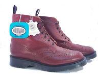 Solovair Dr. Martens Doc Brown Castanho Scotch Grain Leather Boot UK 6.5 US 7.5