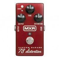 MXR M78 Custom '78 Distortion Guitar Pedal