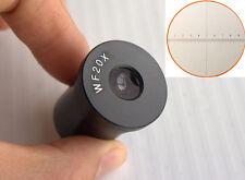 WF20X/10mm Widefield Optical Bio-Microscope Eyepiece Lens 23.2mm Reticle 0.01mm