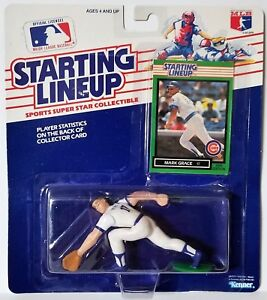 1989 Starting Lineup Mark Grace Chicago Cubs SLU Kenner Sports Figure MG003