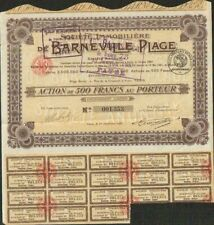 Société Estate von Barneville Strand (50) (und)