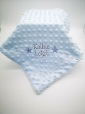 Personalised Baby Comforter  Blankie/Blanket- Quality Gift STARS DESIGN NEW 2020
