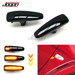 LED Side Marker Dynamic Turn Signal Light For Mitsubishi Lancer Evolution  Evo X