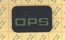 PVC GITD BLACK OPS Morale Patch Zombie Tactical ARMY MILITARY ACU BDU Gear