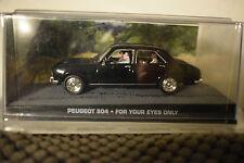 007 James Bond 83 Peugeot 504 In Lethal Mission Atlas 1:43 k1 Automotive