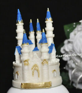 BIRTHDAY PARTY PRINCESS CASTLE CAKE TOPPER SMALL WEDDING QUINCEANERA SWEET 16