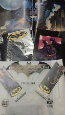 Batman Day 2018 Kit completo (albo, poster, foto, invito, segnalibri, borsa) RW