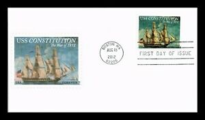 US COVER USS CONSTITUTION WAR OF 1812 SHIP FOREVER FDC UNSEALED