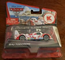 Disney Pixar CARS 2 SHU TODOROKI Kmart Exclusive Synthetic Rubber Tires WGP