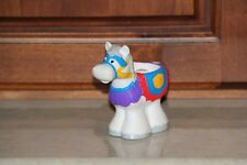 Fisher Price Little People Castle Horse Purple, Blue and Red Lion Tack 2002