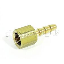 "1/8"" NPT Female Fuel Automotive Marine Fitting US Pipe Standard- 1/8"" Brass Barb"