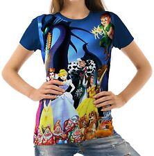 Disney Characters Women T-shirt Tee S M L XL 2XL