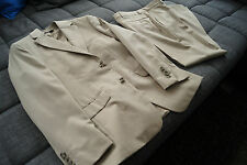 ★★ Esprit Herren Anzug in Beige 44 Sakko Hose Boston Wolle Collection Toronto ★★