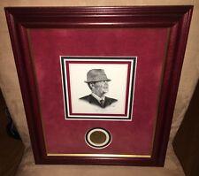 """COACH BRYANT"" The Portrait As Seen at ESPN Headquarters Signed by David Taylor"