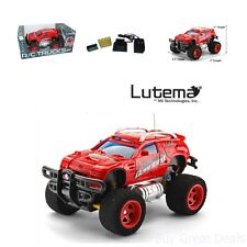 Super RC Car Truck Remote Control 4CH Tracer Racing Rechargeable Toys Outdoor