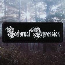 Nocturnal Depression | Embroidered Patch | Depressive / Suicidal Black Metal
