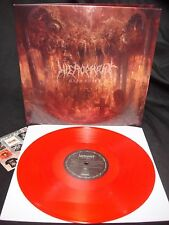 Hierophant Mass Grave LP Red Vinyl NEW Scour Rotten Sound Napalm Death Nails