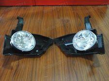 Front Fog Light Lamps w/Brackets Pair For Honda CRV 2005-2006