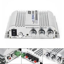 12V Hi-Fi 2.1 Stereo Audio Amplificatore Super Bassi Auto Car