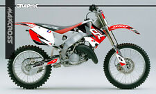 HONDA CR125R 1998-1999 CR250R 1997-1999 MAXCROSS GRAPHICS KIT DECALS FULL KIT