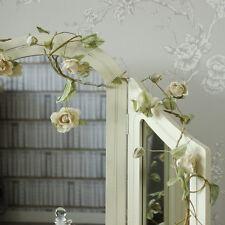 crème fleur rose câble guirlande mariage maison féminin accessoires chambre joli