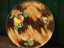 H & K Tunstall - Luscious - Beautiful Handpainted large flat Platter - c1935
