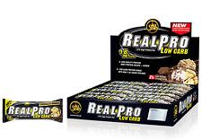 All Stars Real Pro Low Carb Riegel Eiweißriegel 24 x 50 g Schoko Realpro