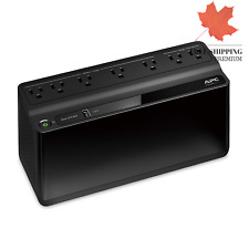 APC UPS Battery Backup & Surge Protector with USB Charger 600VA APC Back-UPS ...