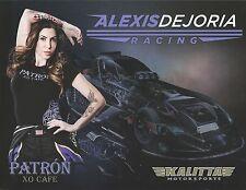 ALEXIS DEJORIA 2014☞#2 PATRON NHRA Drag Racing Nitro Funny Car HANDOUT
