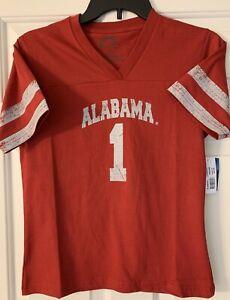 Alabama Crimson Tide Boy's Jersey Style Tee Shirt, New with Tags, Size Medium,