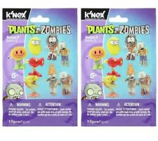 2 pk K'NEX Plants vs Zombies Series 3 Sealed ELITE Blind Bag Laserbean SunFlower