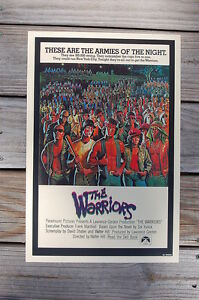 The Warriors Lobby Card Movie Poster