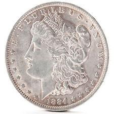 1884 o morgan Silver One dólares New Orleans moneda de plata unidos américa coin errors