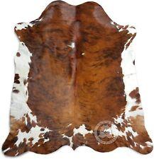 Brindle Tricolor Cowhide Rug XL Approx. 6.5ft x 8ft / 200 cm x 240cm